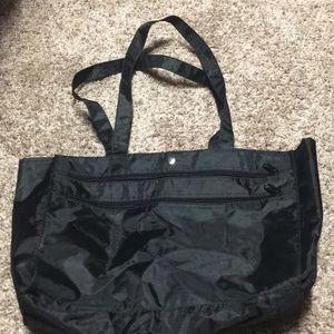 Black Carry on laptop/tablet bag great for travel.